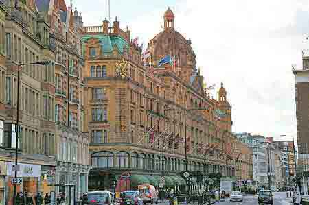 magasin Harrods de Londres