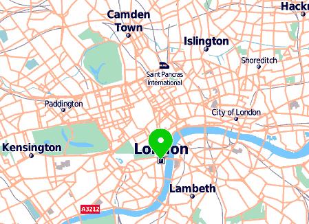 Carte De Londres Par Mappy