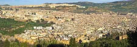 Fès ville impériale du Maroc