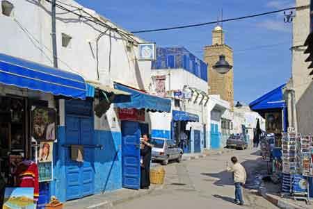 La rue jamaa est la rue principale de la kasbah. la plupart des