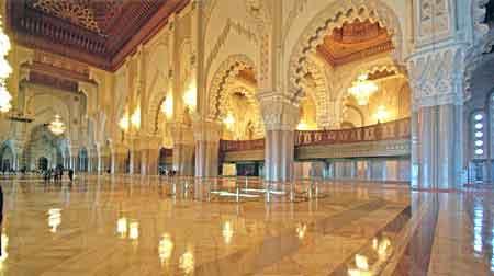 Mosqu e hassan ii casablanca maroc 3eme plus grande monde for Mosquee hassan 2 architecture
