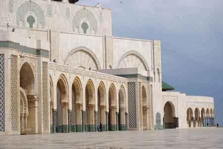7271 voici la grande mosquee de casablanca par for Mosquee hassan 2 architecture