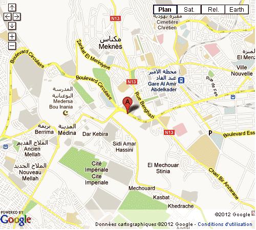 Meknès ville impériale Maroc
