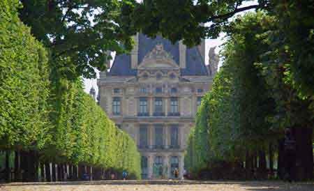 Paris jardin tuileries plan guide touristique - Plan detaille du jardin des tuileries ...