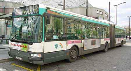 Paris guide transports m tro trains trams bus rer v los taxi - Bus 351 paris ...