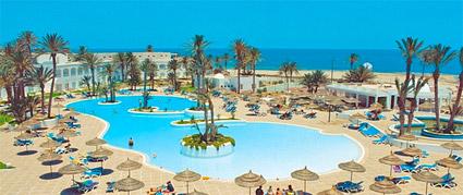 Tunisie zarzis oasis sud soleil carte choisir hotel for Hotel zephir spa djerba promovacances