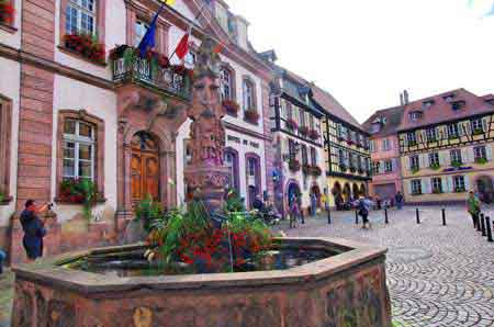 Ribeauvill route vins d 39 alsace pinot noir informations for Piscine de ribeauville