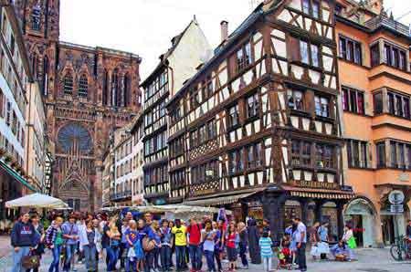 Strasbourg capitale europ enne et de l 39 alsace visite for Chambre de commerce et d industrie strasbourg