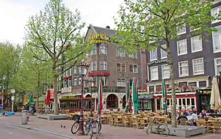 Amsterdam Sortir Le Soir Rembrandtplein Leidseplein