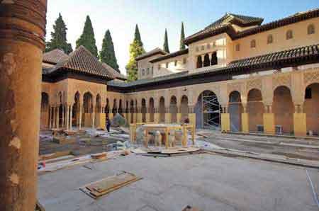 les palais nazaries de l 39 alhambra de grenade visite informations utiles andalousie. Black Bedroom Furniture Sets. Home Design Ideas