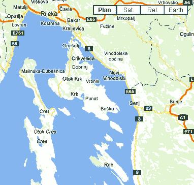Dalmatie : îles de vos vacances en Croatie : Krk, Cres, Rab, Hvar