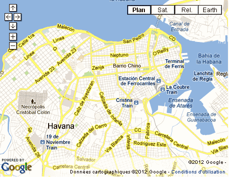 Cuba La Havane malecon transports place révolution
