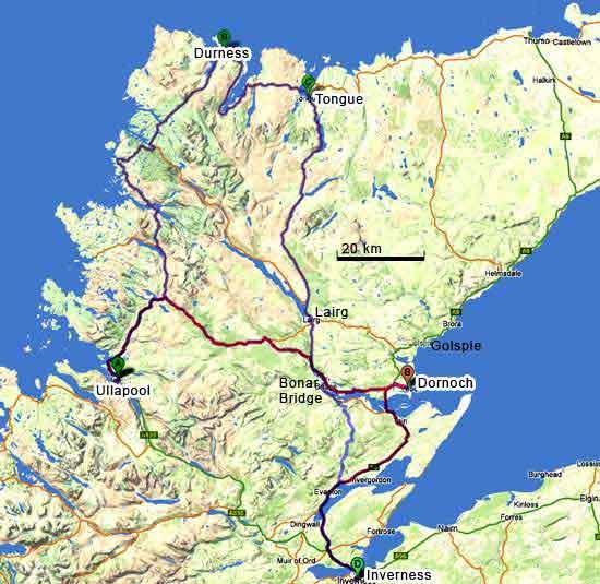 Bien-aimé Ecosse le nord des highlands MF56