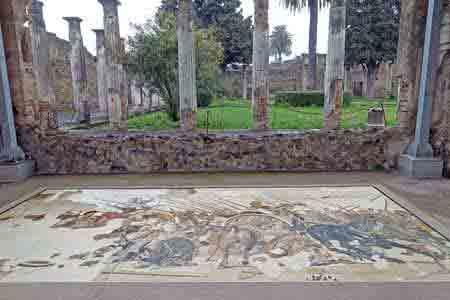 Pompei plan de visite ruines et mus e arch ologique for La maison du sari