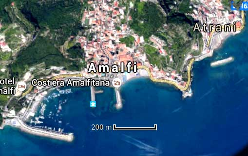Bevorzugt Amalfi capitale de côte Amalfitaine visite informations KX57
