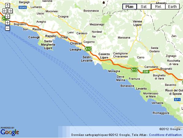 Italie Riviera ligure San Remo Gênes Portofino