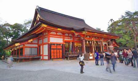Japon - kyoto : yasaka jinja shrine
