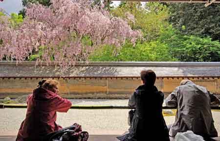 Kyoto jardin sec de ryoan ji voyage au japon informations for Hotel jardin de fleurs kyoto