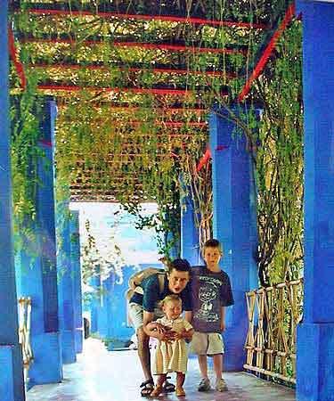 maroc le portail du voyage au maroc marrakech jardins de majorelle. Black Bedroom Furniture Sets. Home Design Ideas