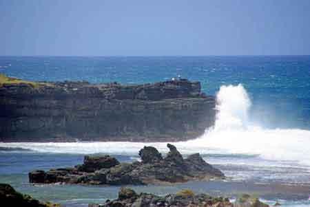 la roche qui pleure sud de ile maurice