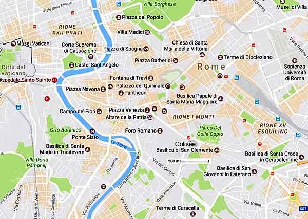 Rome Informations sur capitale Italie