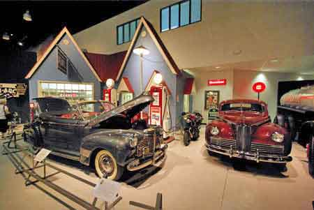 Mus e automobiles am ricaines hershey pennsylvanie usa for Decoration americaine annees 50