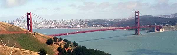 Sausalito californie cit des artistes - Residence belvedere vue pont golden gate ...