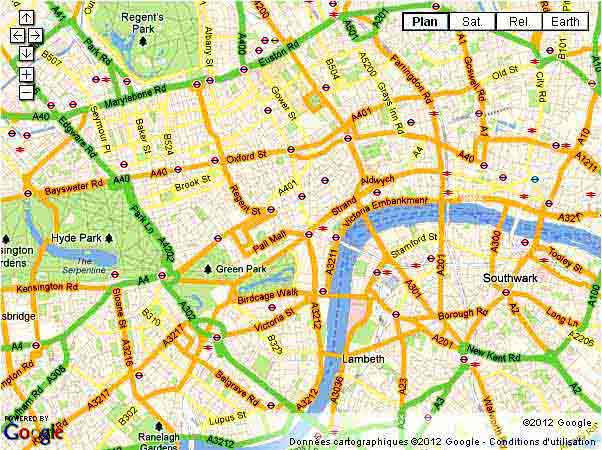 Visiter Londres Cartes Plans Conseils Preparer Visite Budget