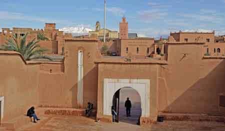 Ouarzazate, Kasbah Taourirt  sud maroc