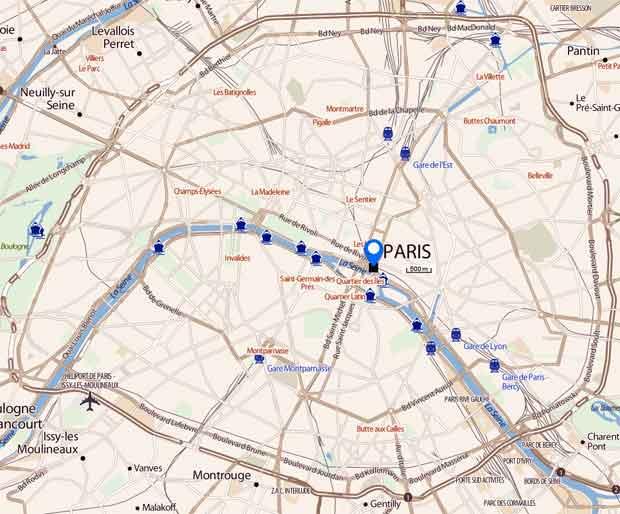 Plan gratuit de Paris PDF à télécharger - bonplangratos.fr