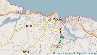 Carte De Le Moule