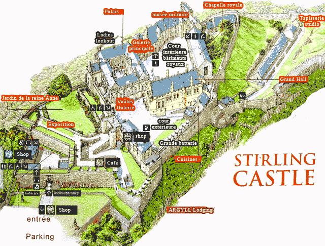 Ecosse Visite Du Chateau De Stirling