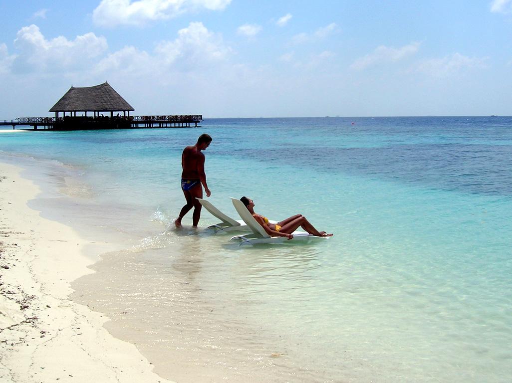 Fonds Ecrans Maldives Embudu Bandos Ocean Indien Gratuits