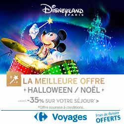 Disneyland Paris Halloween Noel