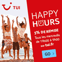 happy hours Tui