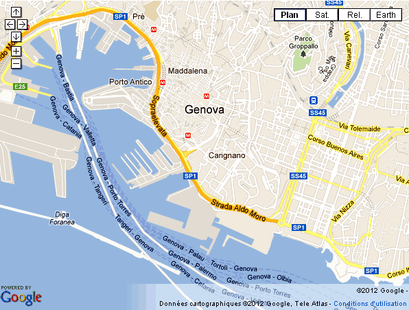 Italie riviera ligure san remo g nes portofino - Office du tourisme italien en france ...
